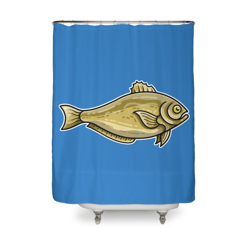 Carp Fish Home Shower Curtain by Flaming Imp's Artist Shop