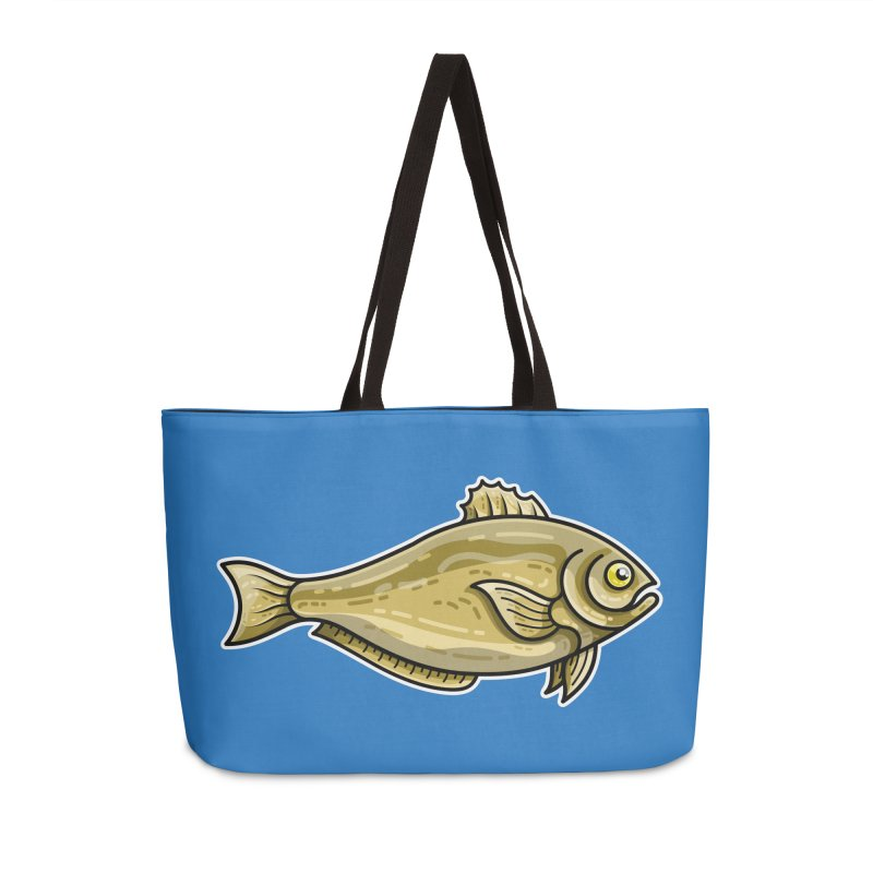 Carp Fish Accessories Weekender Bag Bag by Flaming Imp's Artist Shop