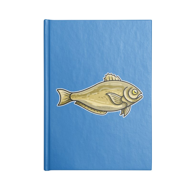 Carp Fish Accessories Notebook by Flaming Imp's Artist Shop