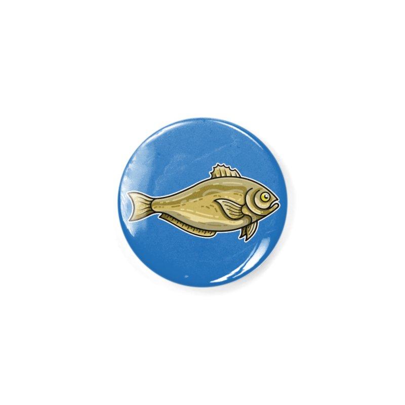 Carp Fish Accessories Button by Flaming Imp's Artist Shop