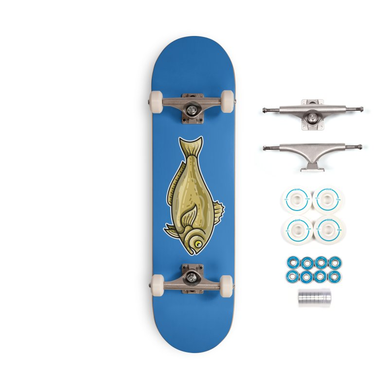 Carp Fish Accessories Complete - Basic Skateboard by Flaming Imp's Artist Shop