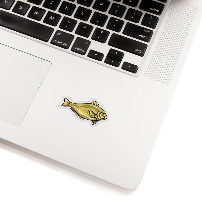 Carp Fish Accessories Sticker by Flaming Imp's Artist Shop