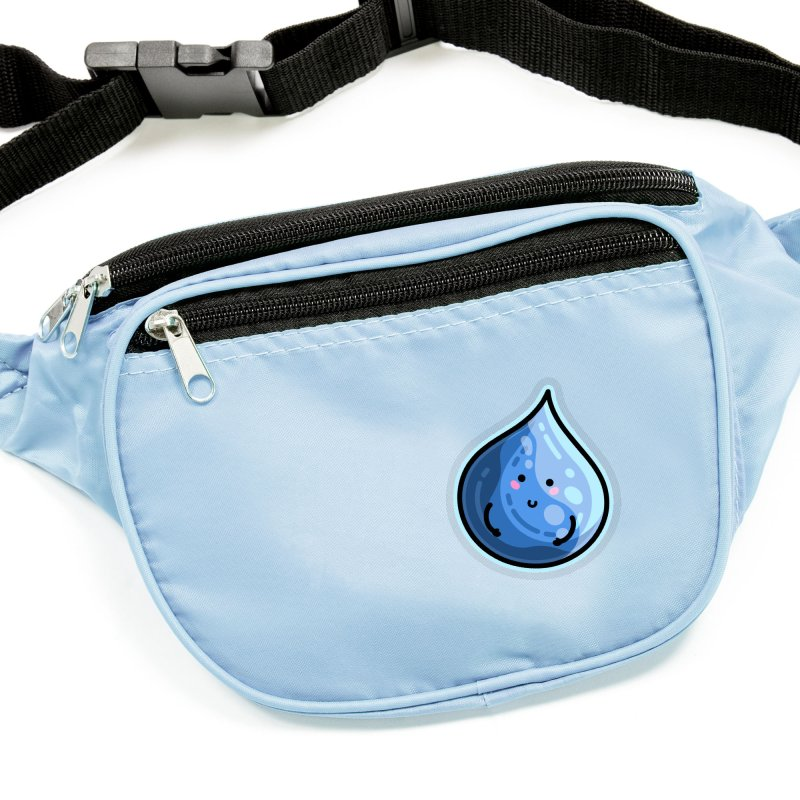 Kawaii Cute Water Droplet / Tear / Rain Masks + Accessories Sticker by Flaming Imp's Artist Shop