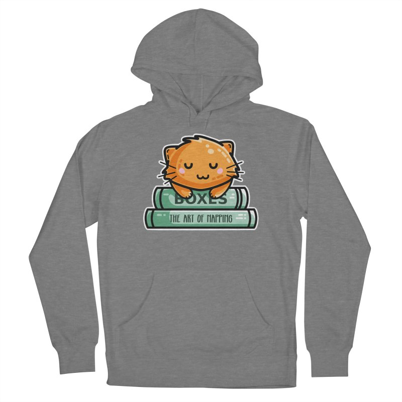 Cute Ginger Cat With Books Women's Pullover Hoody by Flaming Imp's Artist Shop