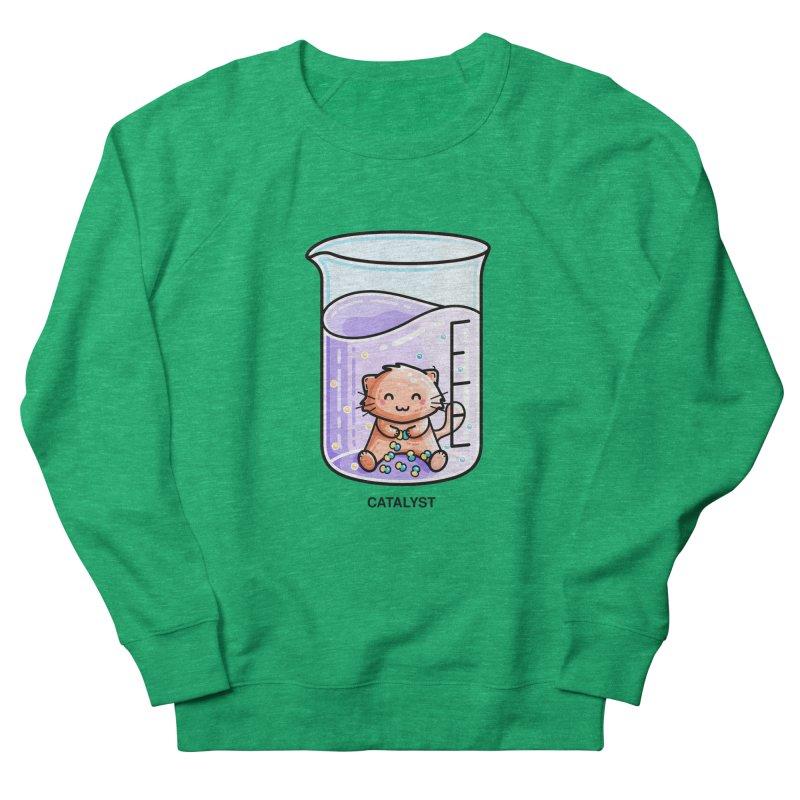 Catalyst Cute Chemistry Cat Pun Women's Sweatshirt by Flaming Imp's Artist Shop