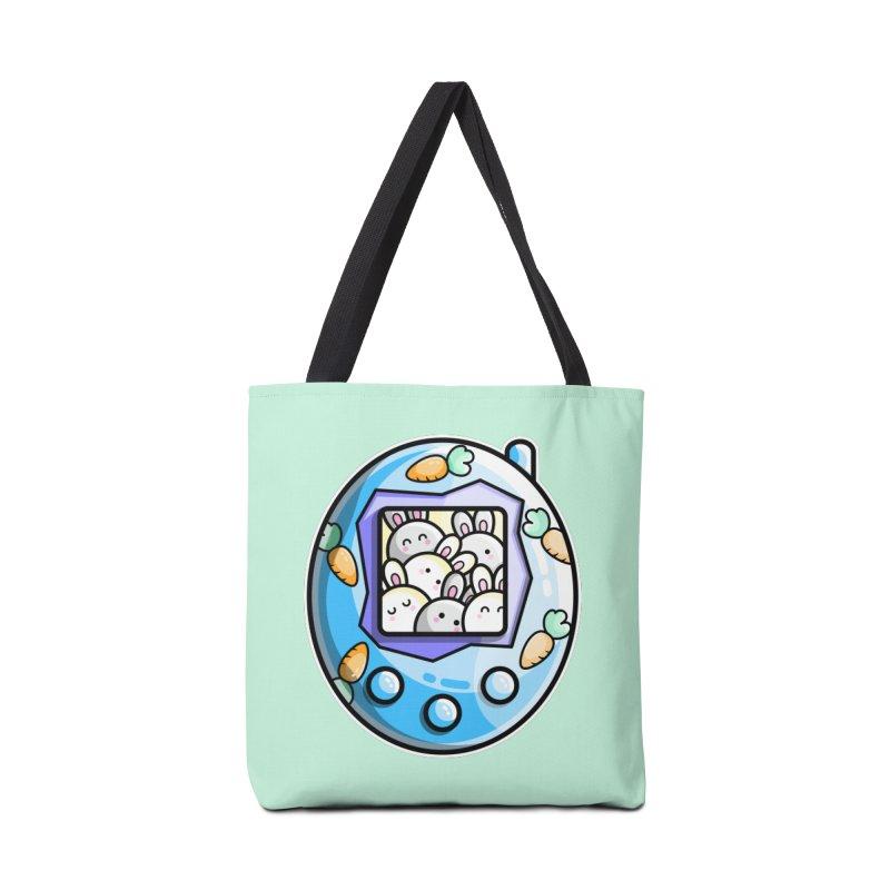 Rabbit Cute Digital Pet Accessories Tote Bag Bag by Flaming Imp's Artist Shop