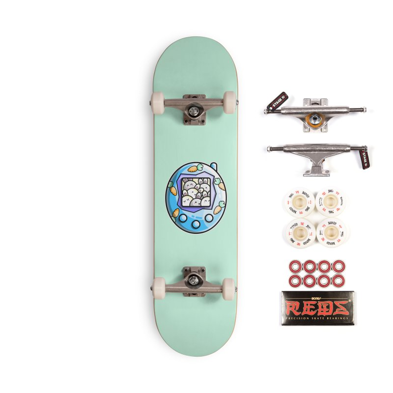 Rabbit Cute Digital Pet Accessories Complete - Pro Skateboard by Flaming Imp's Artist Shop
