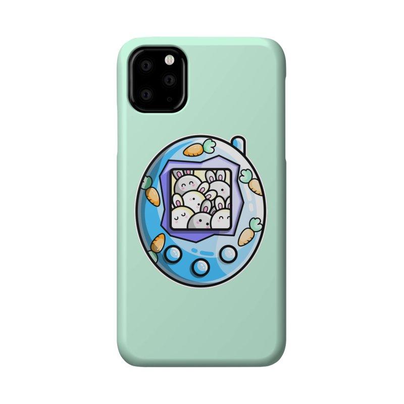 Rabbit Cute Digital Pet Accessories Phone Case by Flaming Imp's Artist Shop