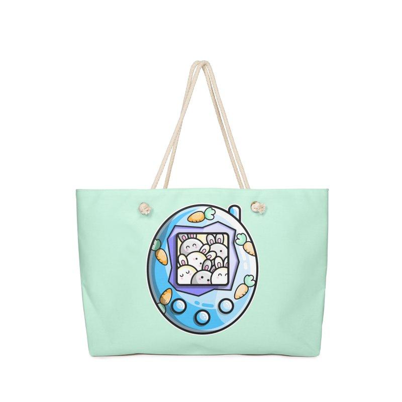 Rabbit Cute Digital Pet Accessories Bag by Flaming Imp's Artist Shop