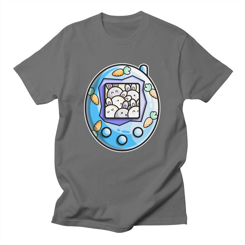 Rabbit Cute Digital Pet Unisex T-Shirt by Flaming Imp's Artist Shop