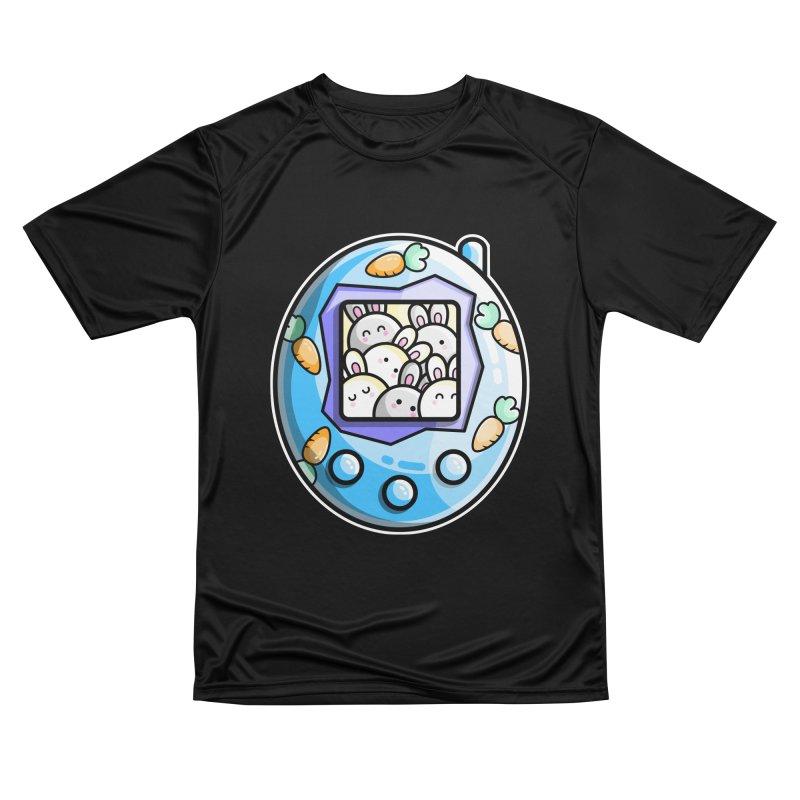 Rabbit Cute Digital Pet Women's T-Shirt by Flaming Imp's Artist Shop