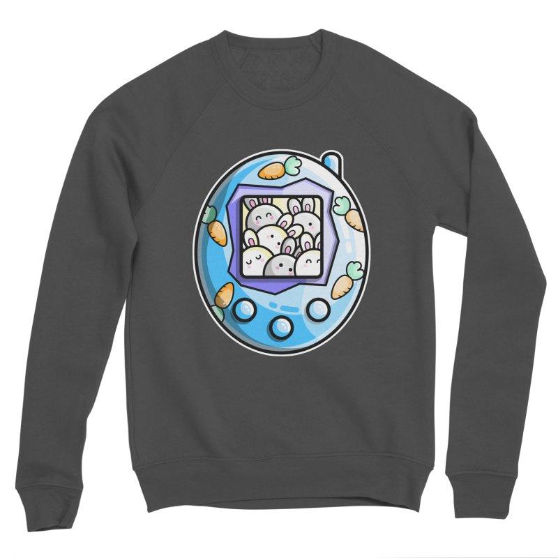 Rabbit Cute Digital Pet Men's Sponge Fleece Sweatshirt by Flaming Imp's Artist Shop