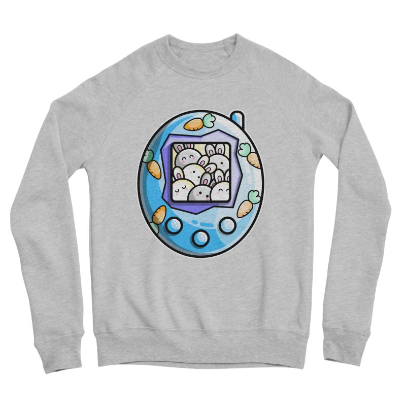 Rabbit Cute Digital Pet Men's Sweatshirt by Flaming Imp's Artist Shop