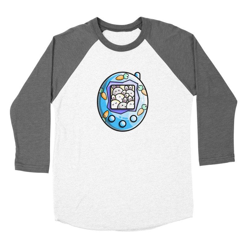 Rabbit Cute Digital Pet Women's Longsleeve T-Shirt by Flaming Imp's Artist Shop