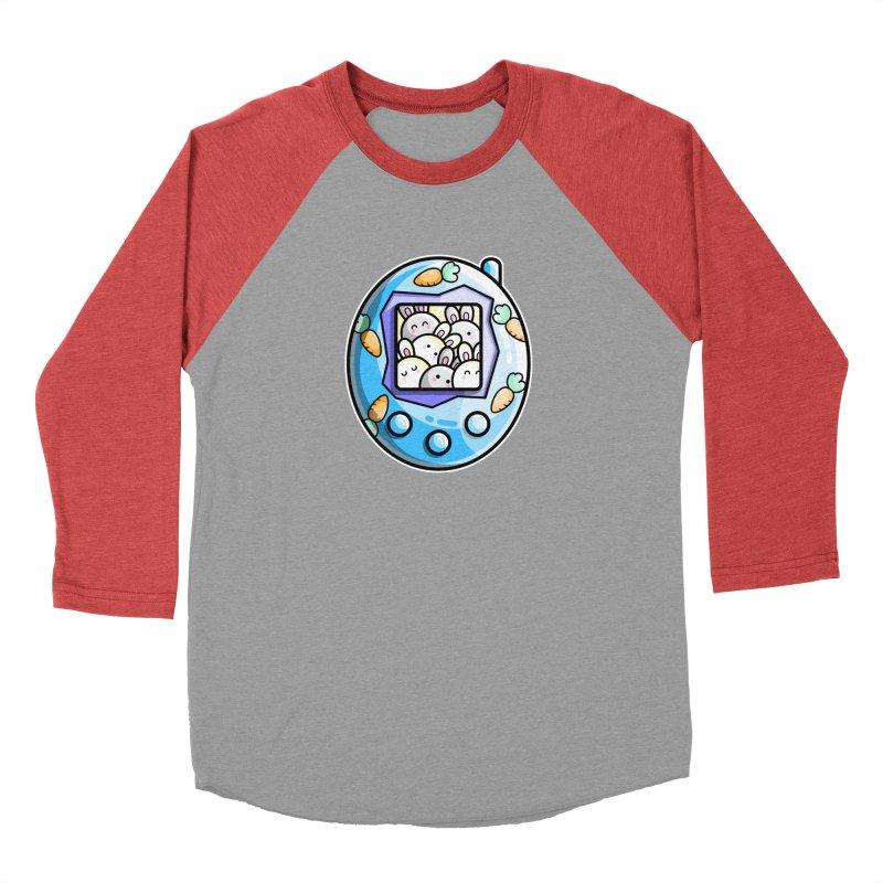 Rabbit Cute Digital Pet Men's Longsleeve T-Shirt by Flaming Imp's Artist Shop