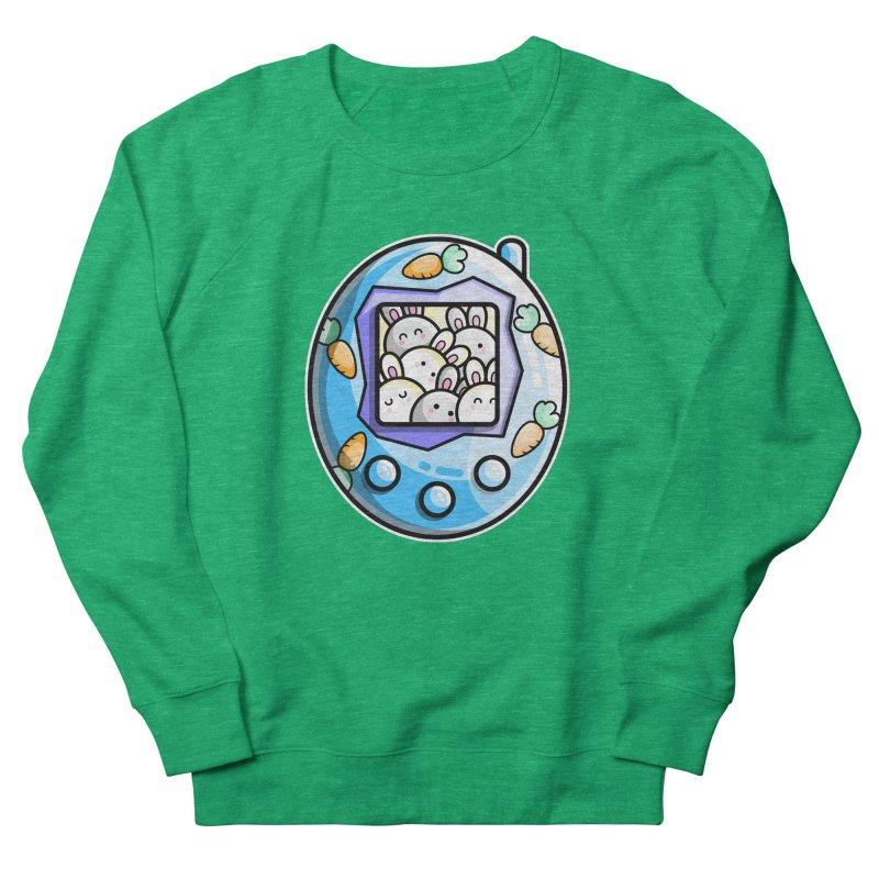 Rabbit Cute Digital Pet Women's Sweatshirt by Flaming Imp's Artist Shop