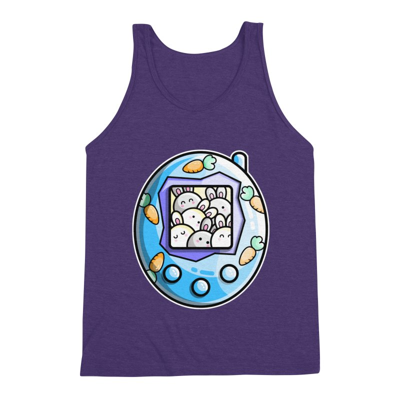 Rabbit Cute Digital Pet Men's Tank by Flaming Imp's Artist Shop