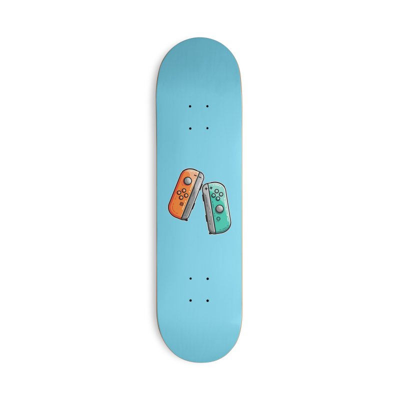 Gaming Controllers Accessories Deck Only Skateboard by Flaming Imp's Artist Shop