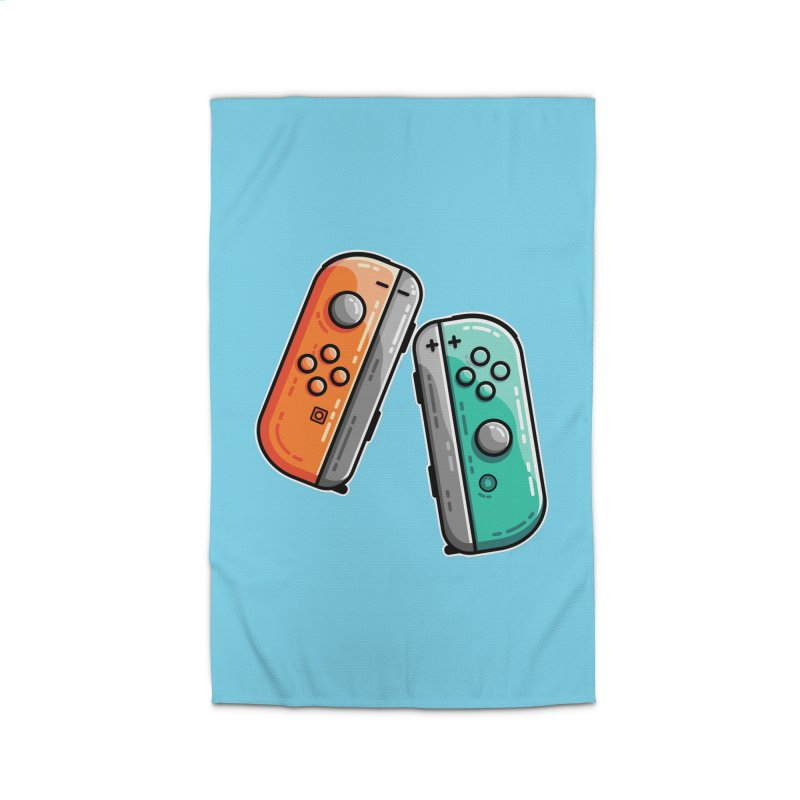 Gaming Controllers Home Rug by Flaming Imp's Artist Shop