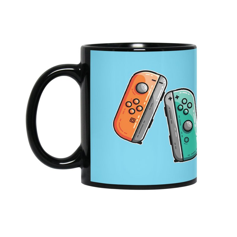 Gaming Controllers Accessories Mug by Flaming Imp's Artist Shop