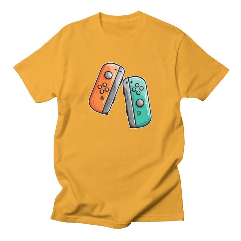 Gaming Controllers Unisex T-Shirt by Flaming Imp's Artist Shop