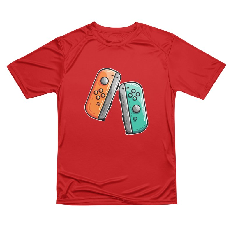 Gaming Controllers Women's Performance Unisex T-Shirt by Flaming Imp's Artist Shop