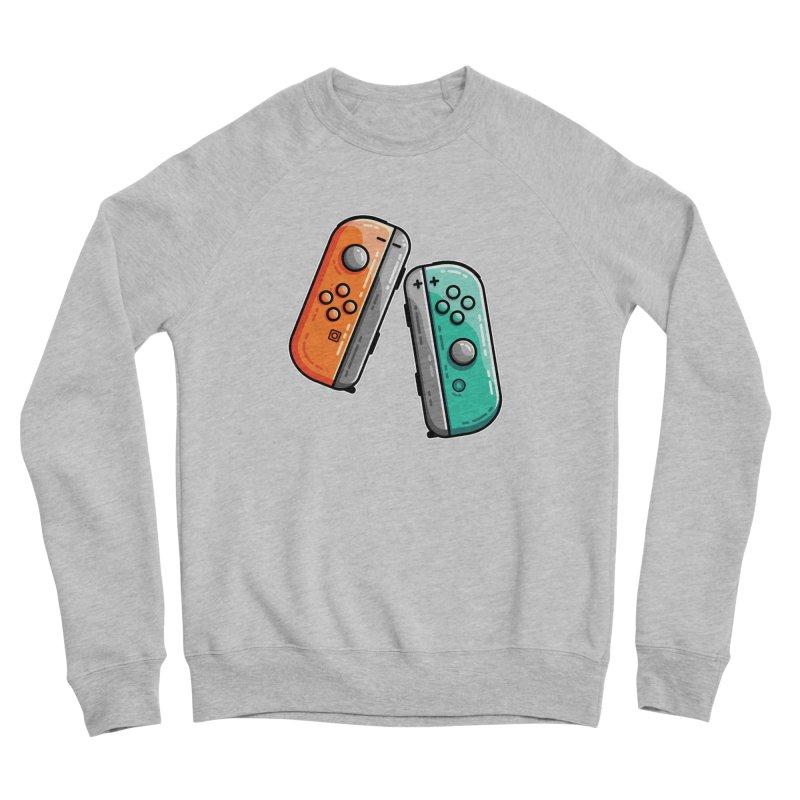 Gaming Controllers Men's Sponge Fleece Sweatshirt by Flaming Imp's Artist Shop