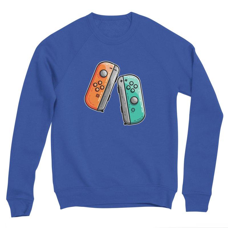 Gaming Controllers Men's Sweatshirt by Flaming Imp's Artist Shop