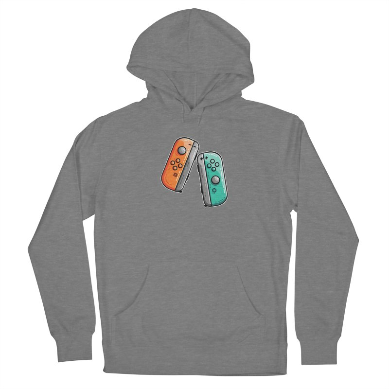 Gaming Controllers Fitted Pullover Hoody by Flaming Imp's Artist Shop