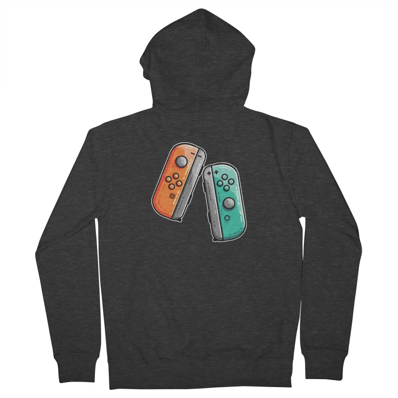Gaming Controllers Men's Zip-Up Hoody by Flaming Imp's Artist Shop