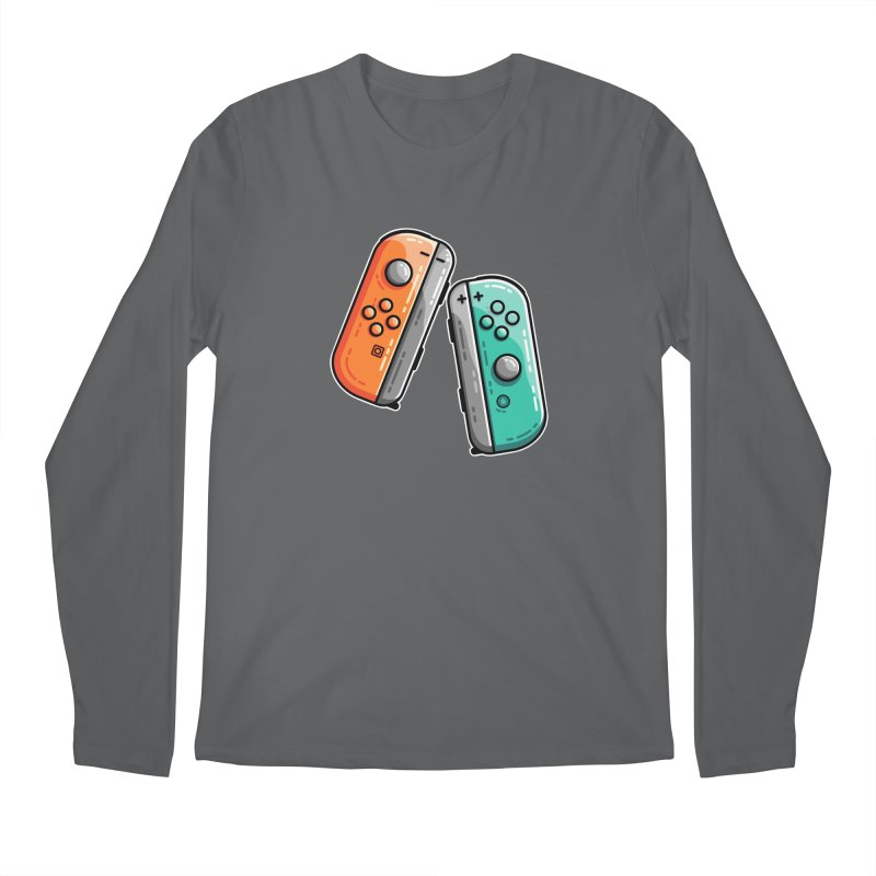 Gaming Controllers Men's Longsleeve T-Shirt by Flaming Imp's Artist Shop