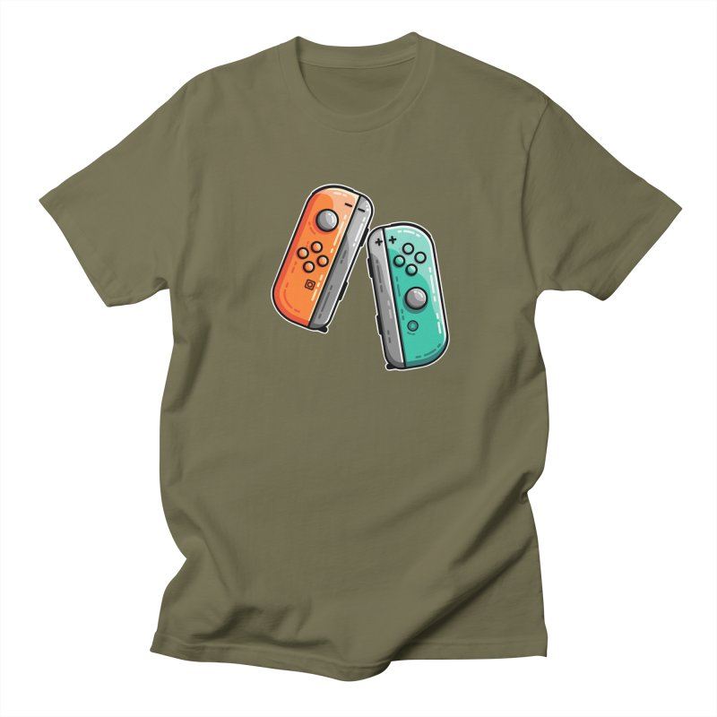 Gaming Controllers Men's T-Shirt by Flaming Imp's Artist Shop
