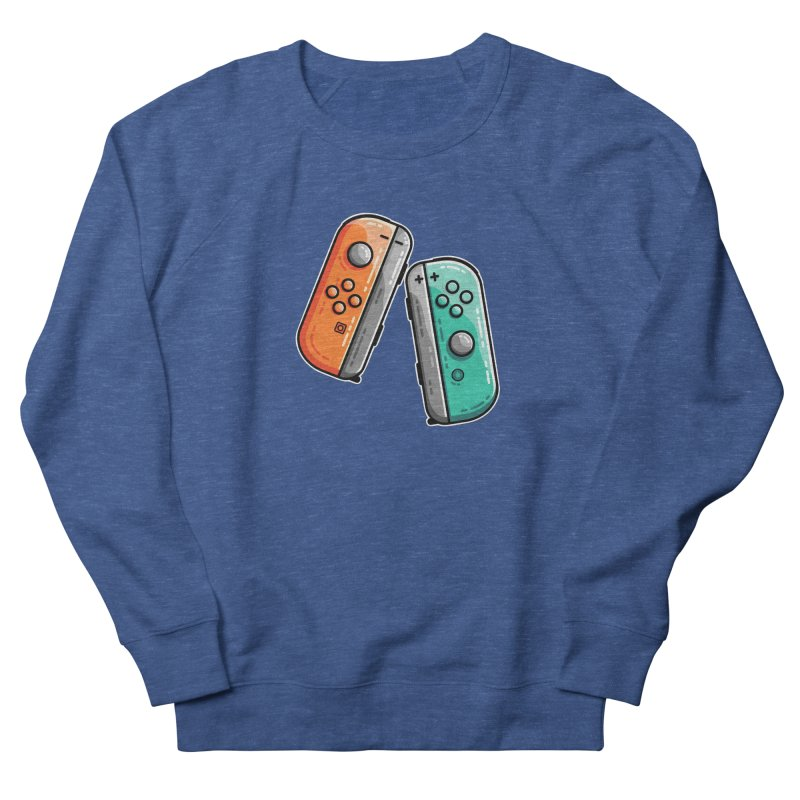 Gaming Controllers Men's Sweatshirt by Flaming Imp's Artist Shop