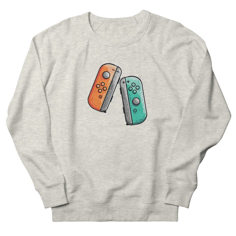 Gaming Controllers Men's French Terry Sweatshirt by Flaming Imp's Artist Shop