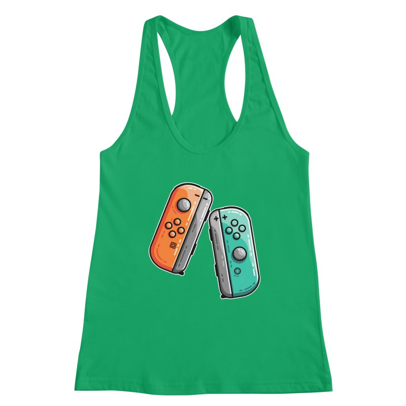 Gaming Controllers Women's Tank by Flaming Imp's Artist Shop