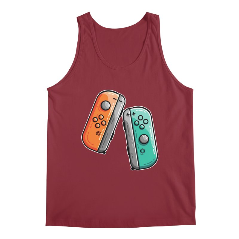 Gaming Controllers Men's Tank by Flaming Imp's Artist Shop