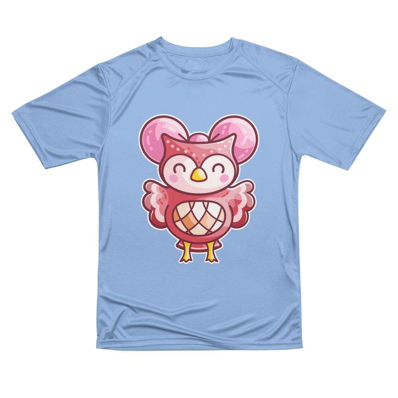 Cute Celeste Owl Women's T-Shirt by Flaming Imp's Artist Shop