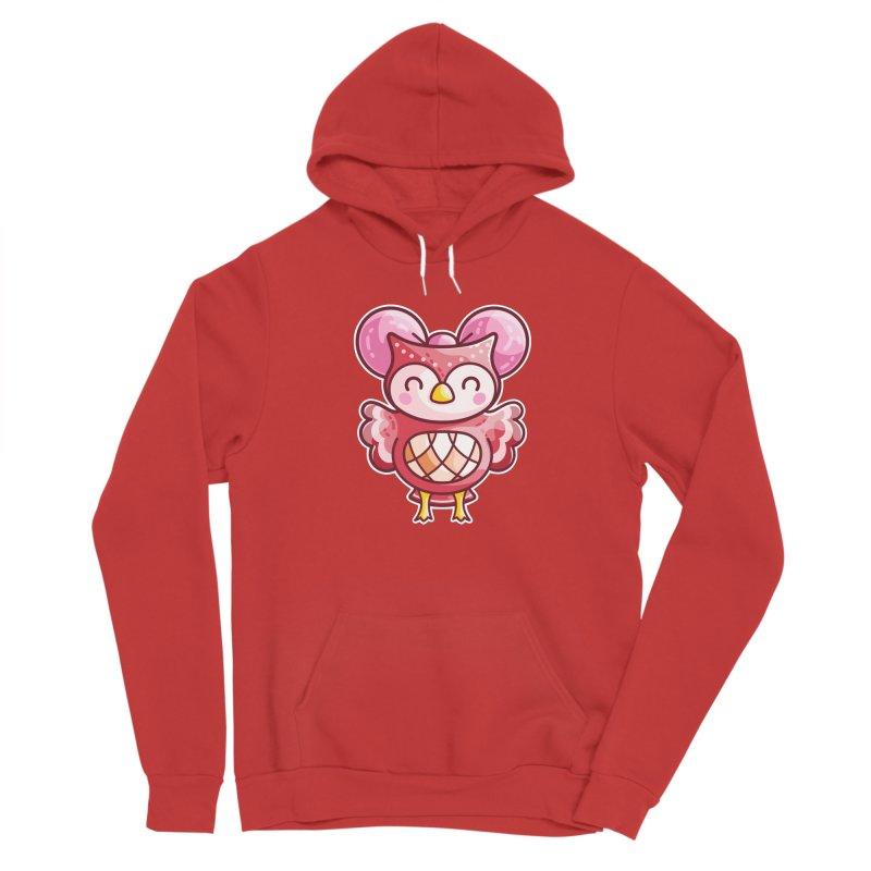 Cute Celeste Owl Women's Pullover Hoody by Flaming Imp's Artist Shop