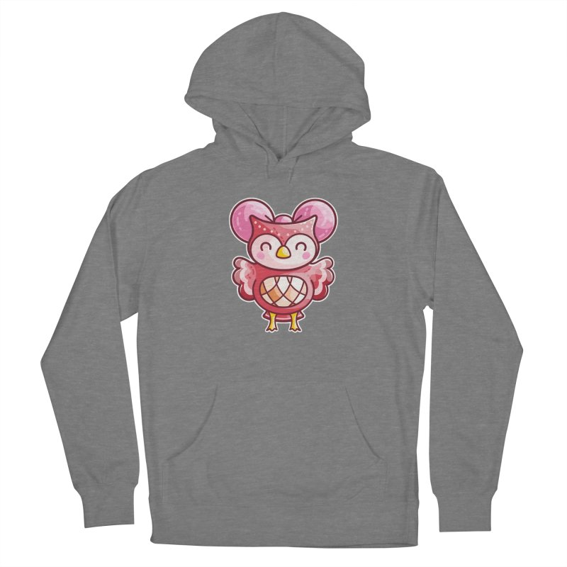 Cute Celeste Owl Women's Pullover Hoody by Flaming Imp's Artist Shop