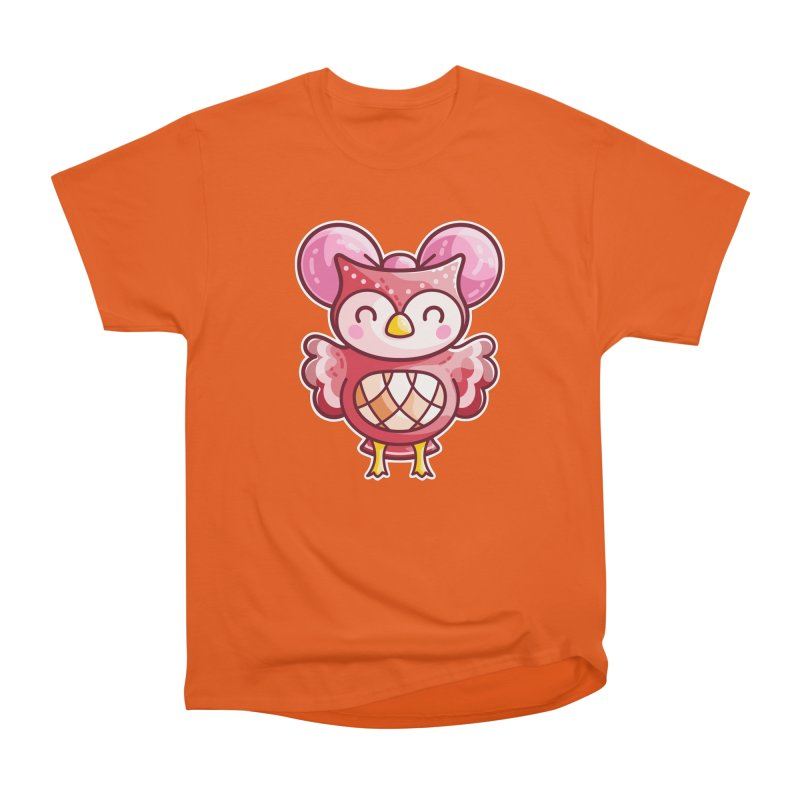 Cute Celeste Owl Women's T-Shirt by Flaming Imp's Artist Shop