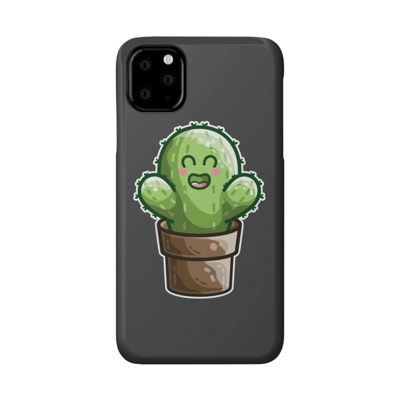 Cute Cactus In A Pot Accessories Phone Case by Flaming Imp's Artist Shop