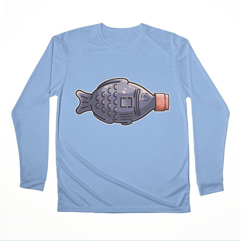 Cute Soy Fish Women's Longsleeve T-Shirt by Flaming Imp's Artist Shop