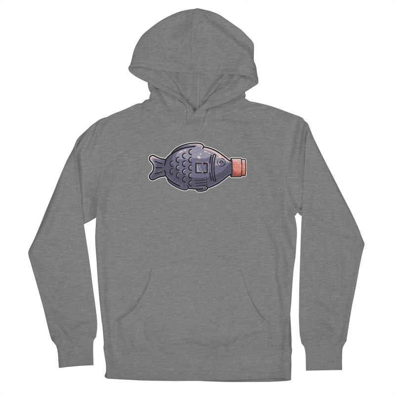 Cute Soy Fish Women's Pullover Hoody by Flaming Imp's Artist Shop