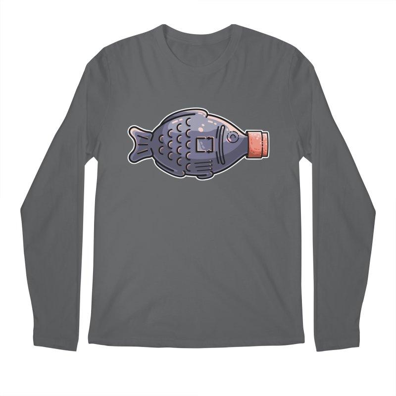 Cute Soy Fish Men's Longsleeve T-Shirt by Flaming Imp's Artist Shop