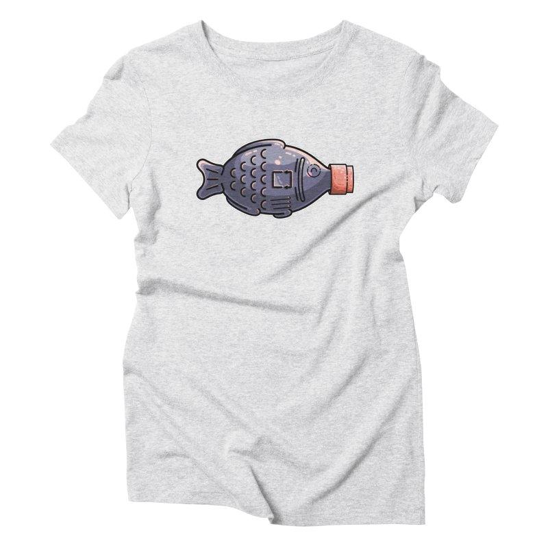 Cute Soy Fish Women's T-Shirt by Flaming Imp's Artist Shop