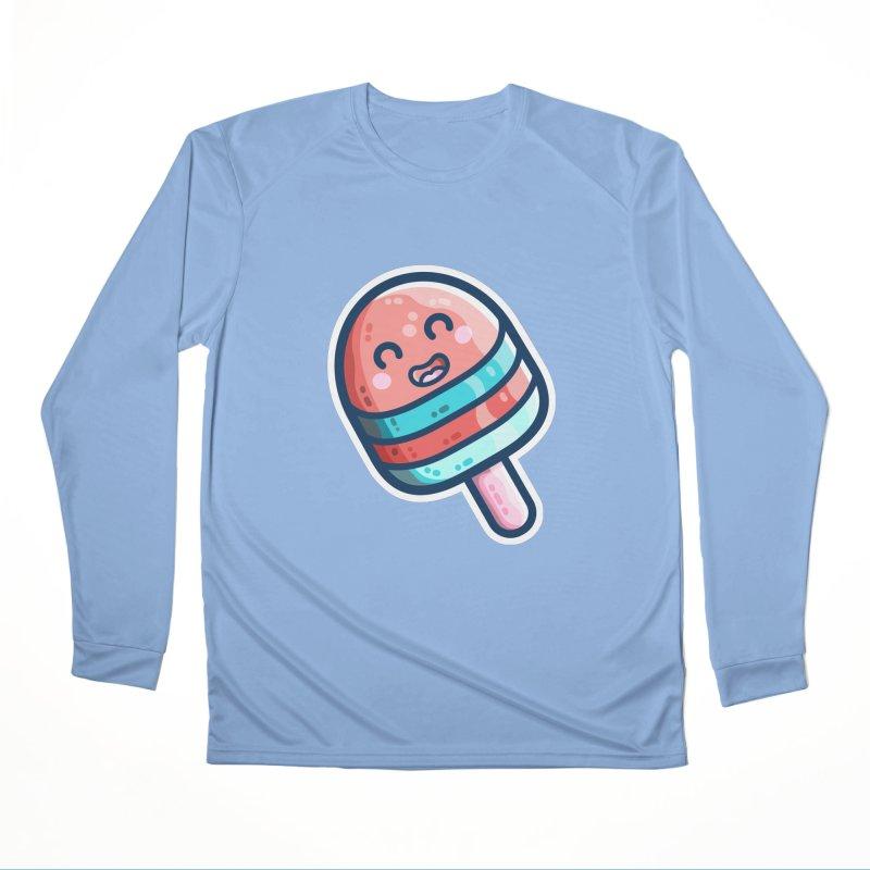Popsicle Ice Lolly Kawaii Cute Women's Longsleeve T-Shirt by Flaming Imp's Artist Shop