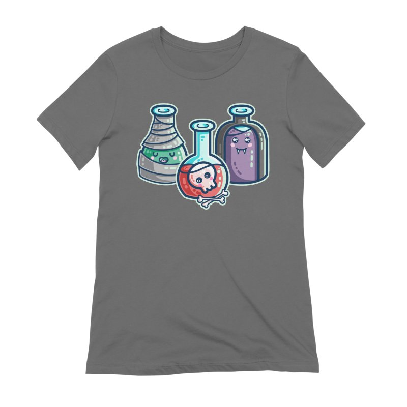 Halloween Costumes Potion Bottles Women's T-Shirt by Flaming Imp's Artist Shop