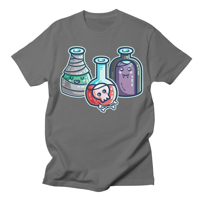 Halloween Costumes Potion Bottles Men's T-Shirt by Flaming Imp's Artist Shop
