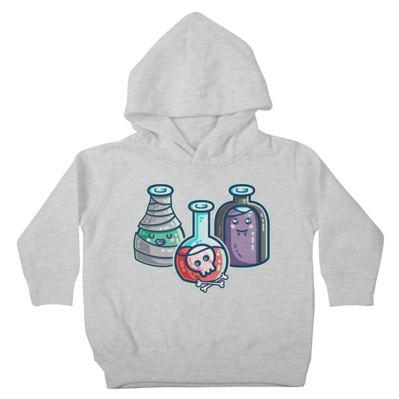 Halloween Costumes Potion Bottles Kids Toddler Pullover Hoody by Flaming Imp's Artist Shop
