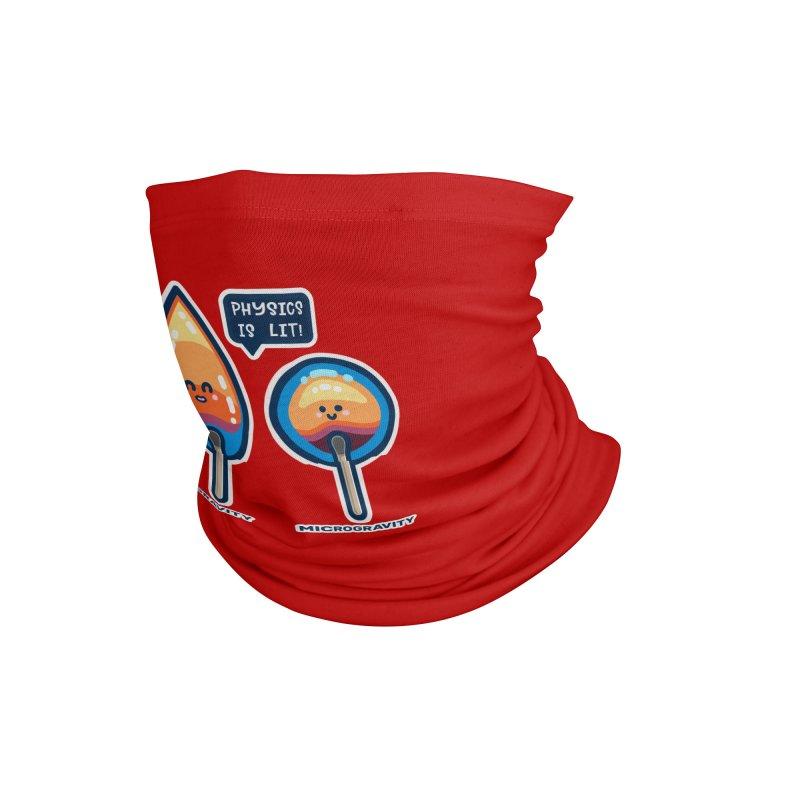 Physics Is Lit! Masks + Accessories Neck Gaiter by Flaming Imp's Artist Shop